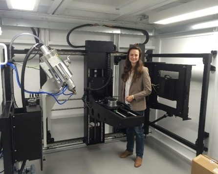 An image of the High Flux Imaging Bay